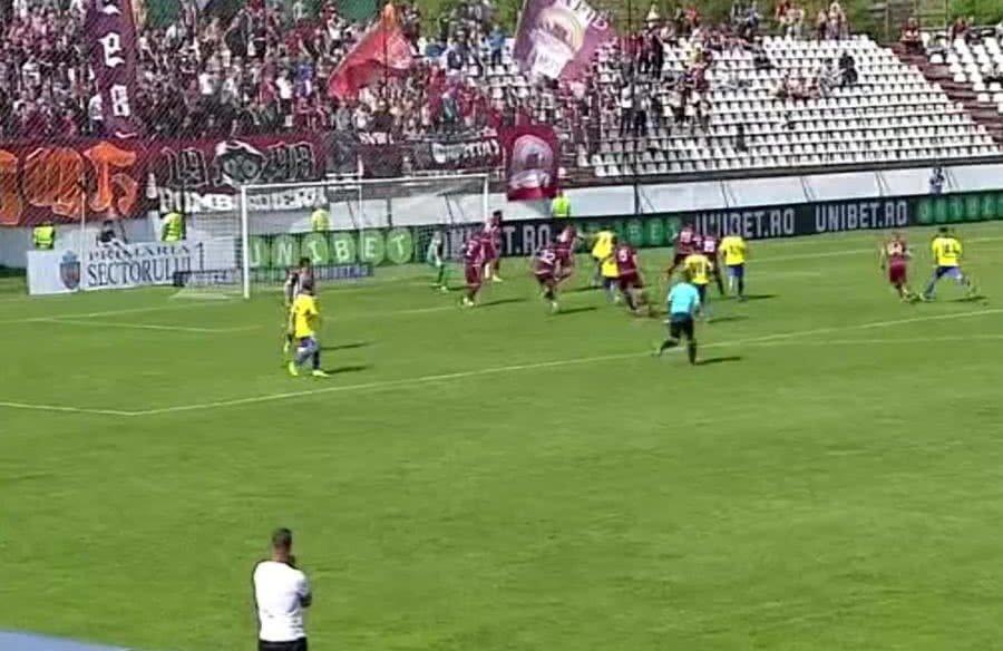Rapid - Agricola Borcea // FOTO: Captură TV Digi Sport