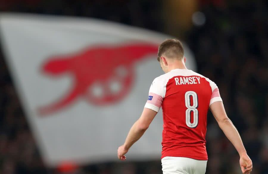 Aaron Ramsey o va părăsi pe Arsenal, după 11 ani // FOTO: Guliver/Getty Images