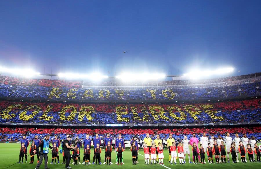Barcleona -Liverpool / FOTO: Reuters