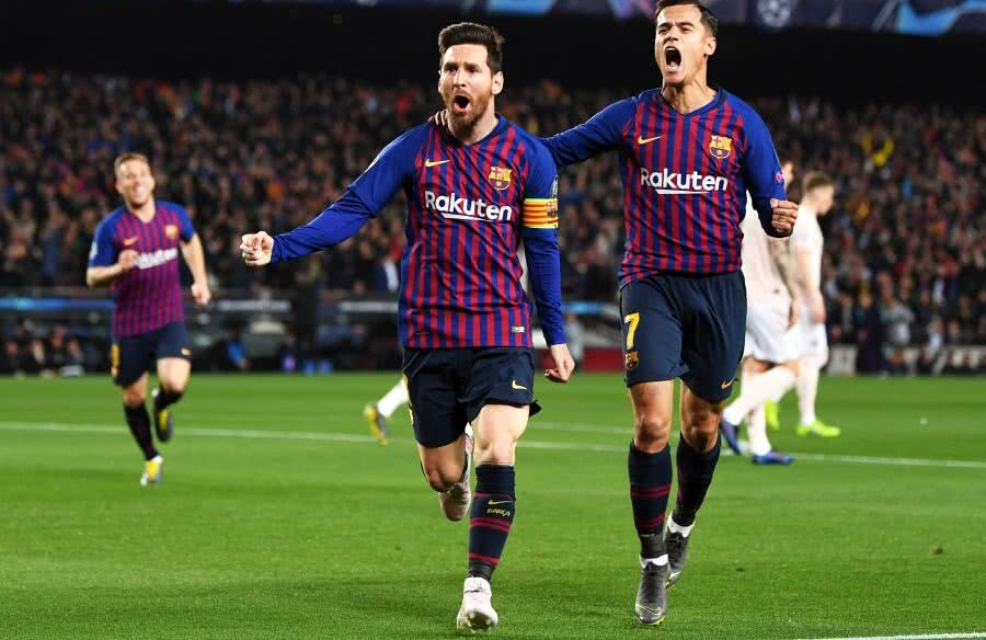 Leo Messi și Philippe Coutinho // FOTO: Guliver/Getty Images