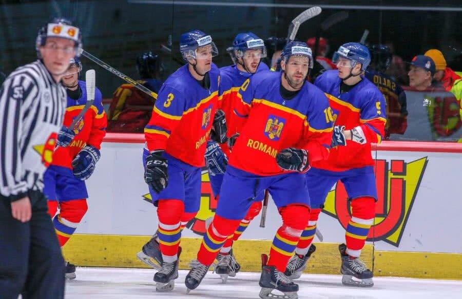Naționala de hochei a României FOTO: IIHF