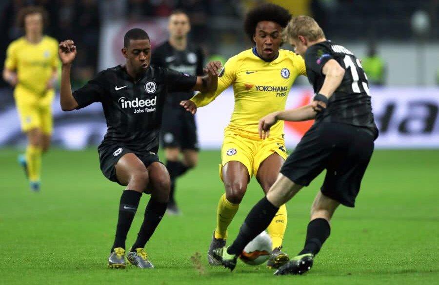 Frankfurt - Chelsea // FOTO: Reuters