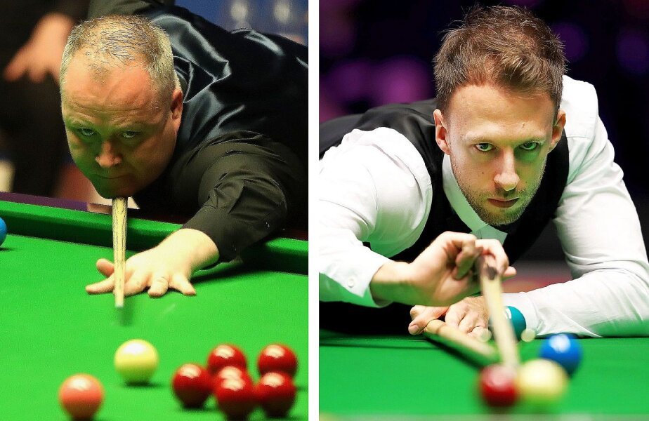 John Higgins, stânga, și Judd Trump, dreapta, foto: Guliver/gettyimages