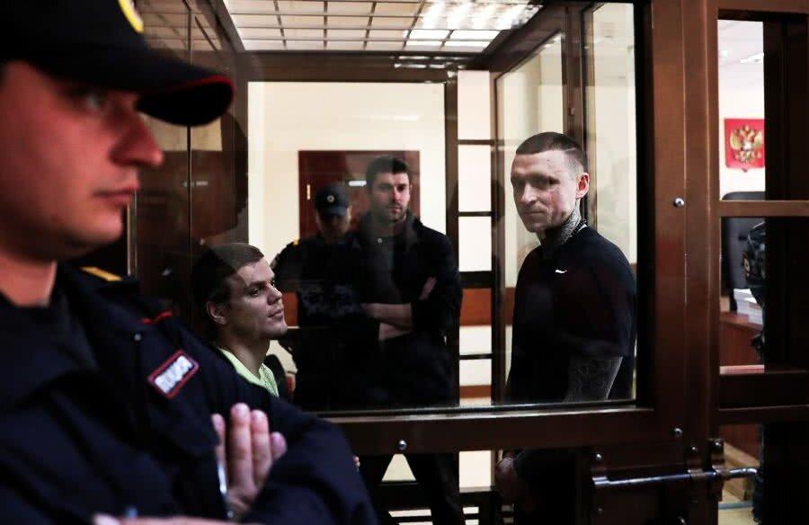Din octombrie, Aleksandr Kokorin (Zenit, 28 de ani) și Pavel Mamaev (Krasnodar, 30 de ani) stau după gratii, la pușcăria moscovită Butîrka.