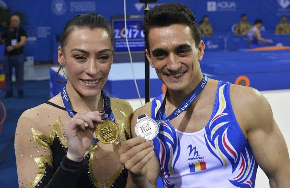 Cătălina Ponor și Marian Drăgulescu sunt doi dintre cei mai mari sportivi ai României