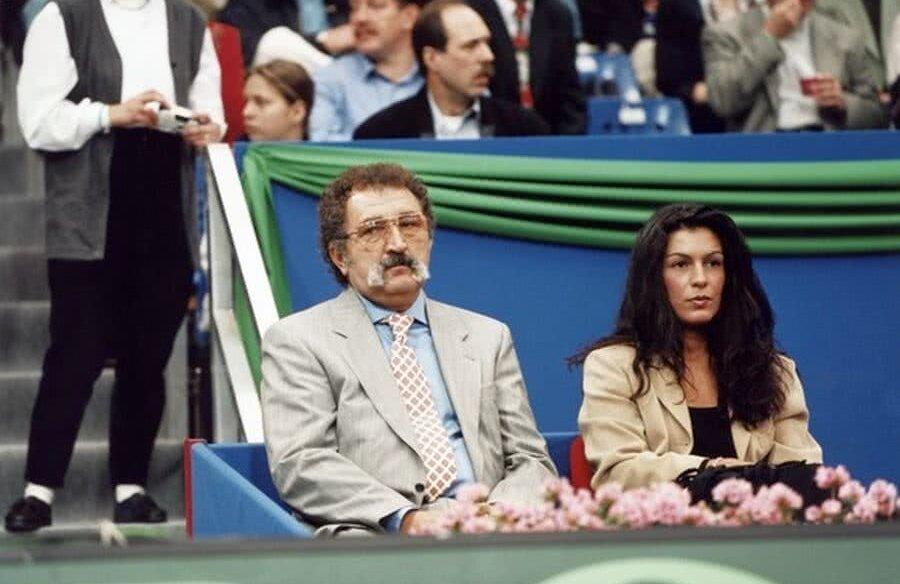 Ion Țiriac și Sophie Ayad
