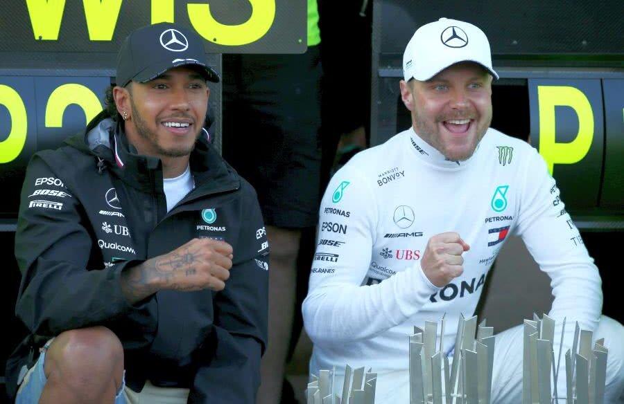 Valtteri Bottas și Lewis Hamilton // FOTO: Guliver/GettyImages