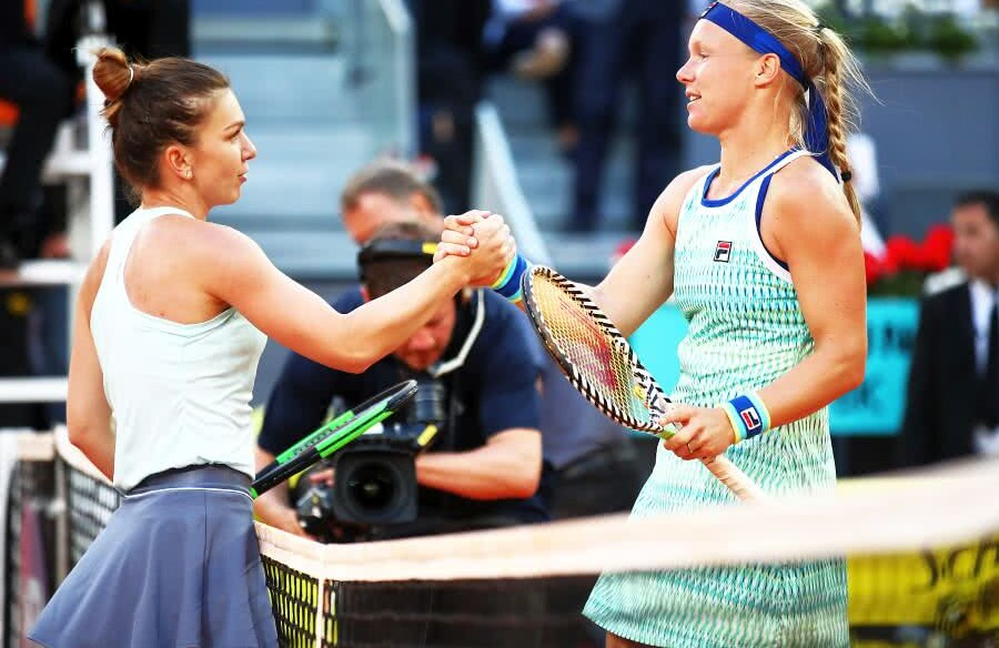 Simona Halep - Kiki Bertens // FOTO: Guliver/Getty Images
