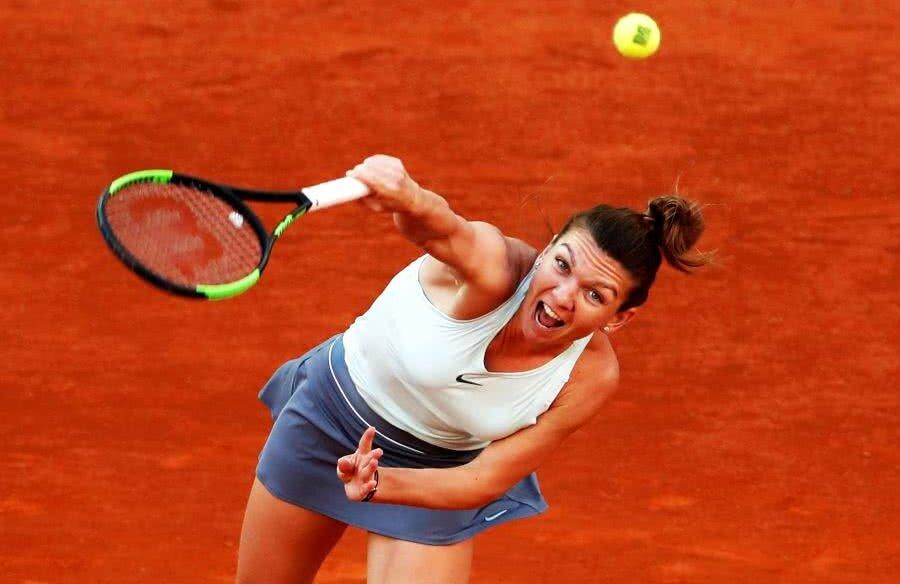 Simona Halep revine pe locul 2 în clasamentul WTA; însă misiunea de a urca pe primul loc după turneul de la Roma e complicată // FOTO: Guliver/Getty Images