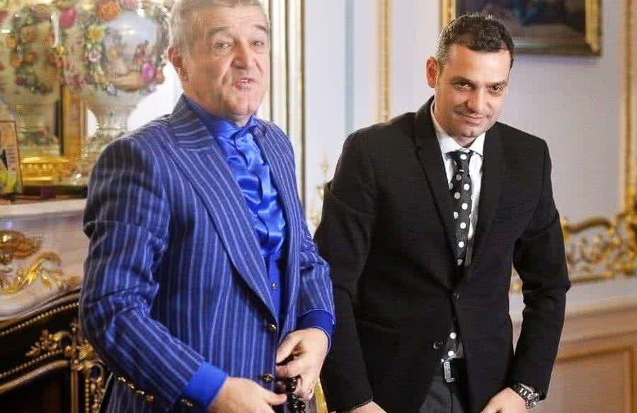Gigi Becali și Mihai Teja