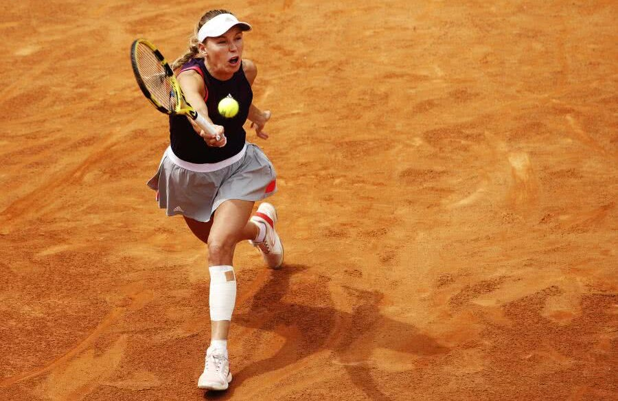 Caroline Wozniacki, OUT de la Roma! foto: Guliver/gettyimages