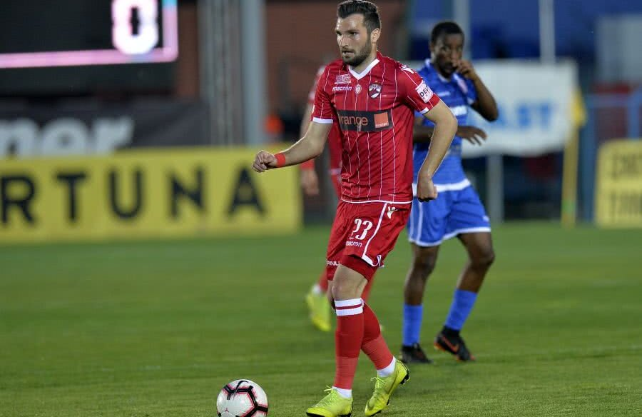 Ionuț Șerban a fost ultima oară titular la meciul cu FC Voluntari, câștigat cu 2-1