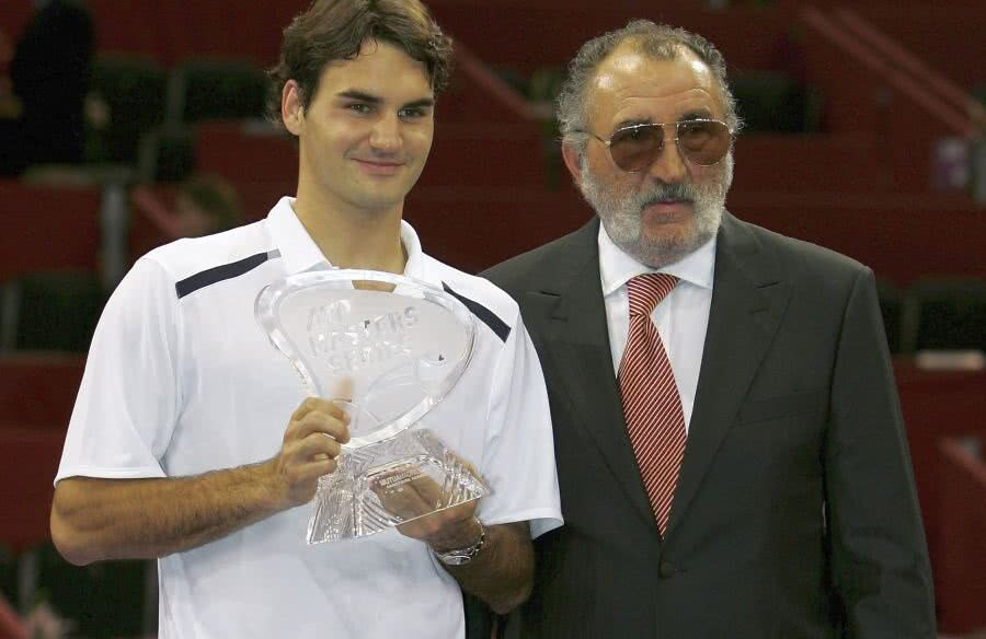 Ion Țiriac și Roger Federer // foto: Guliver/Getty Images