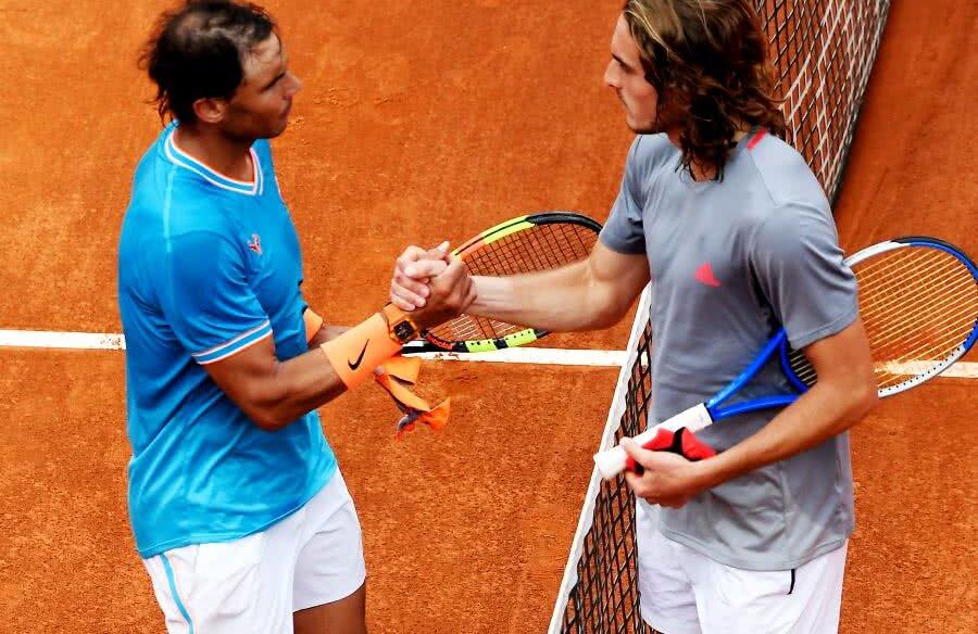 Nadal i-a oferit o lecție de tenis lui Tsitspas  // foto: Reuters