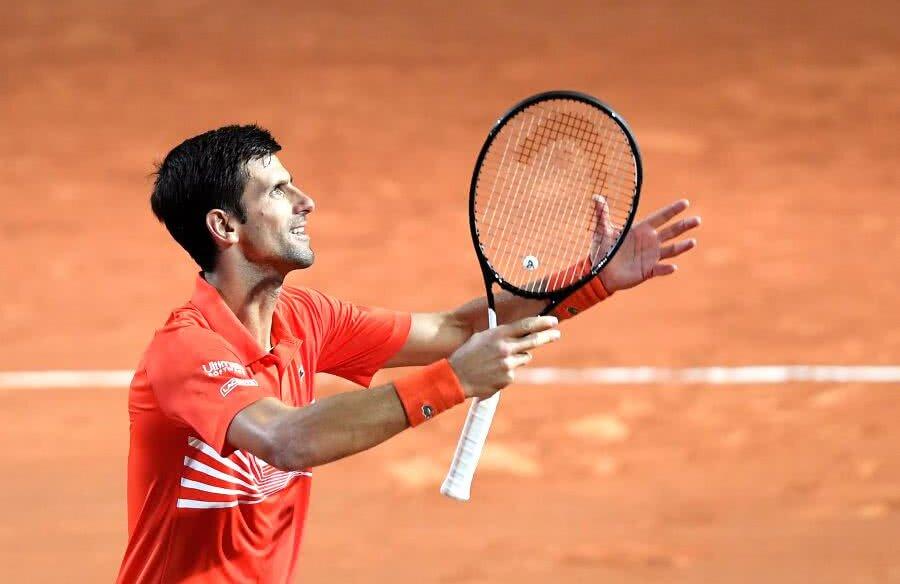 Novak Djokovic s-a calificat în finala de la Roma // FOTO: Reuters