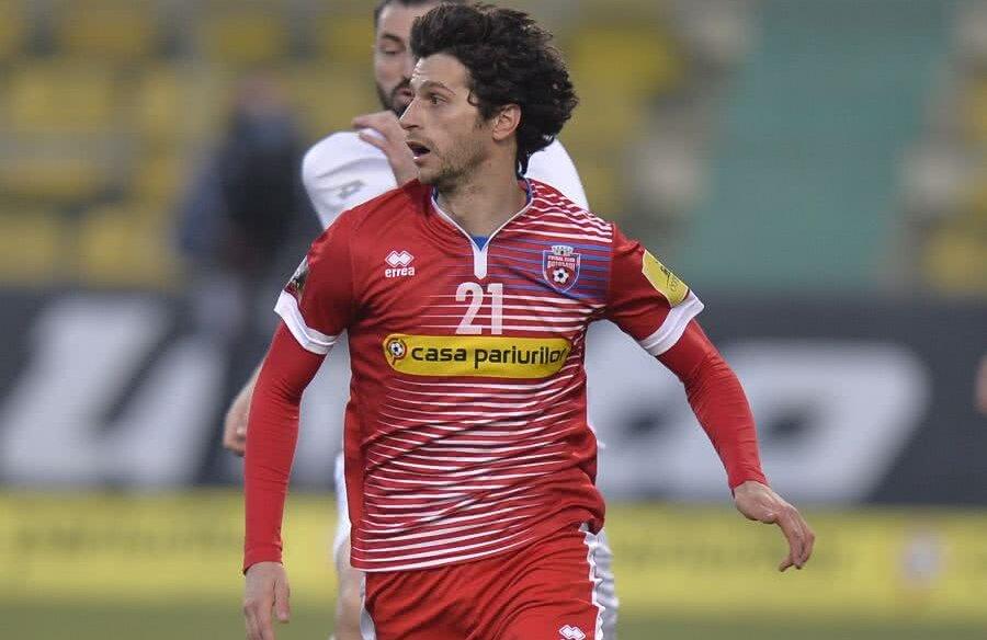 Fabbrini, 28 de ani, are 5 goluri în 29 de meciuri la Botoșani în acest sezon. A jucat ca mijlocaș central și ca extremă stânga