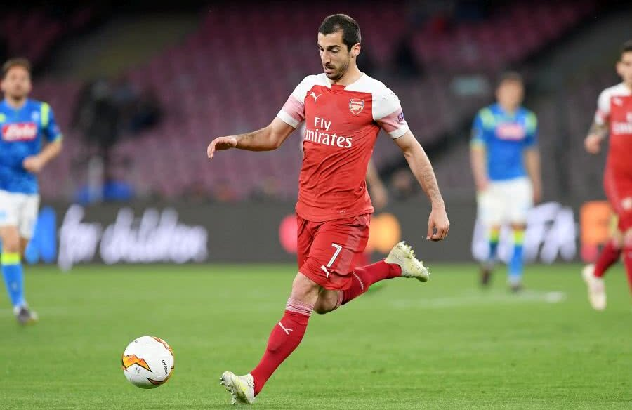 Henrikh Mkhitaryan // FOTO: Guliver/Getty Images