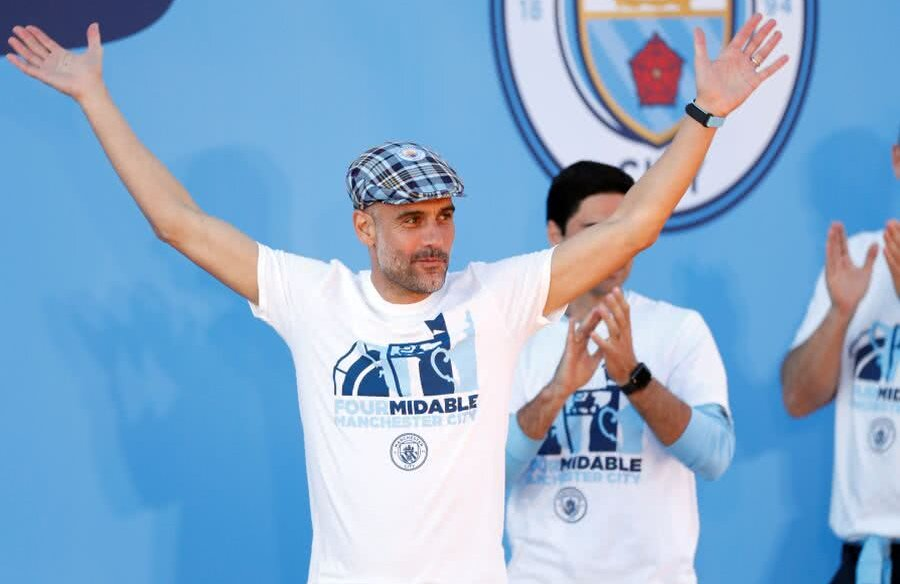 Pep Guardiola // FOTO: Reuters