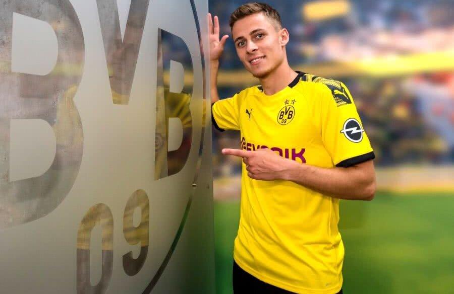 Thorgan Hazard // foto: Twitter Borussia Dortmund