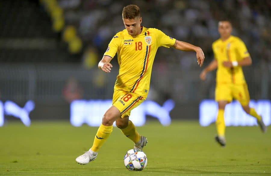 Răzvan Marin a fost integralist în ambele meciuri ale naționalei mari din preliminariile EURO 2020