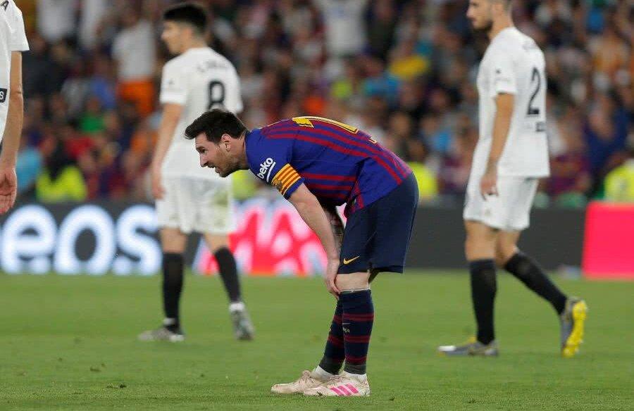 Leo Messi, Barcelona - Valencia 1-2