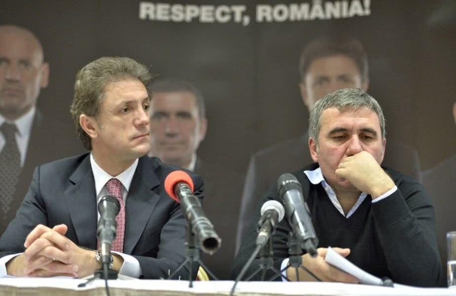 Gheorghe Popescu și Gheorghe Hagi