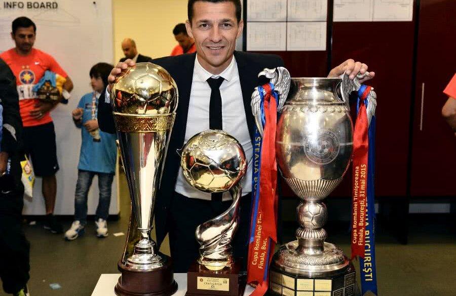 Costel Gâlcă - trofee FCSB