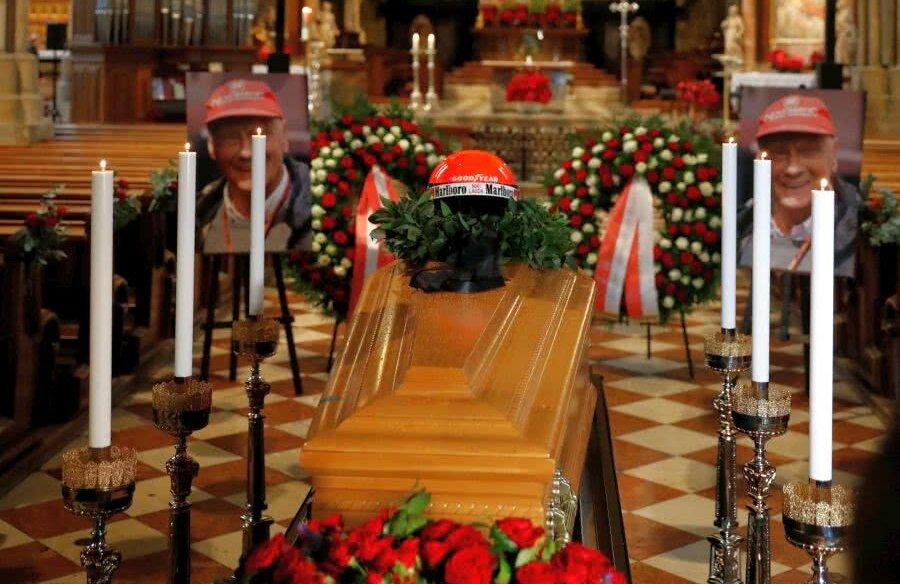 Înmormântarea lui Niki Lauda // foto: Reuters