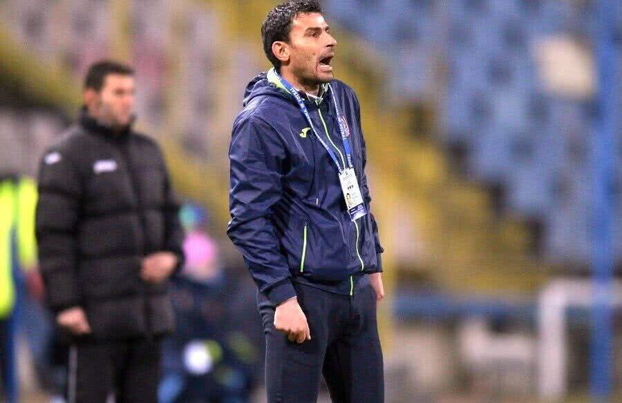 Eugen Trică, antrenor FC U Craiova