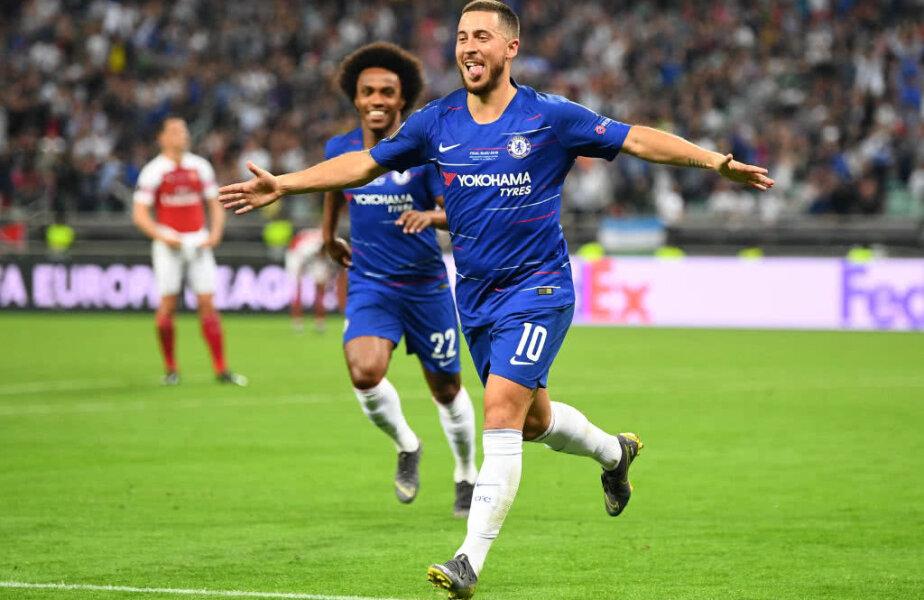 Eden Hazard a jucat azi ultimul meci la Chelsea