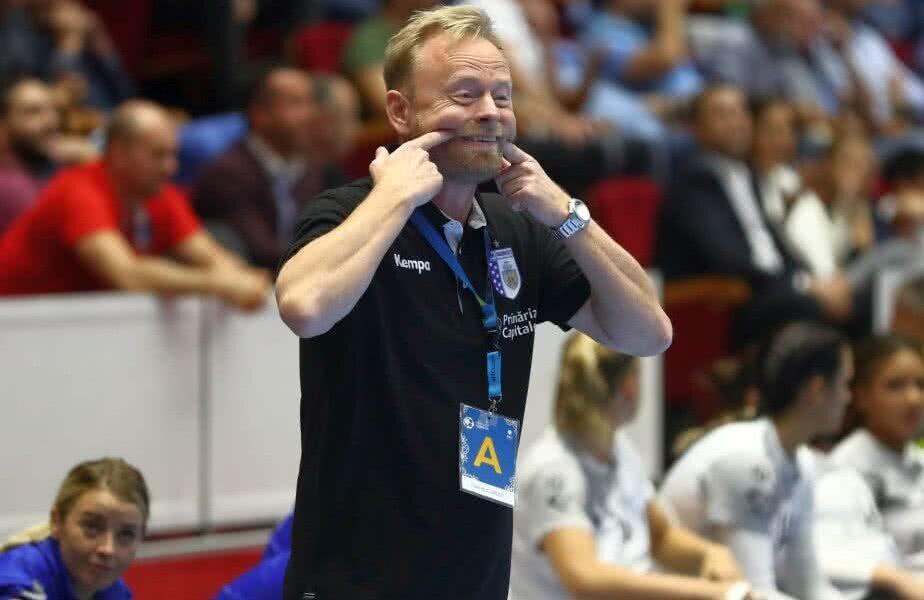 Magnus Johansson - antrenor CSM București