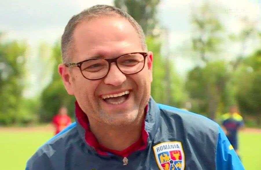 Bogdan Matei râde de situația lui Dinamo // Captură TV Telekom Sport
