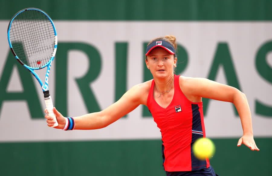 Irina Begu la Roland Garros // FOTO: Guliver/Getty Images
