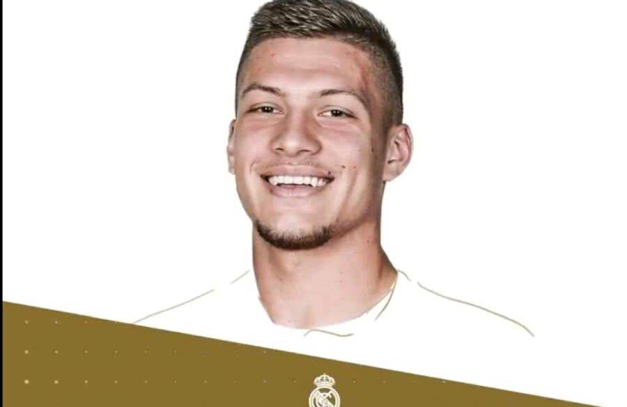 Luka Jovic e noul jucător al lui Real Madrid