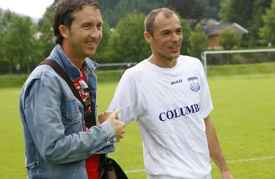 MM și Bogdan Andone au colaborat în anii 2000 la Oțelul