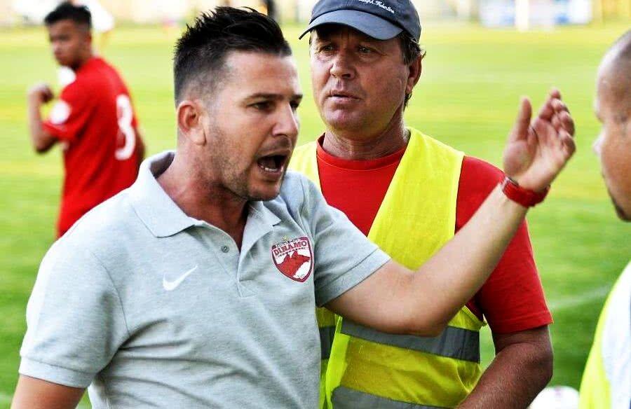 Laurențiu Diniță, în perioada în care evolua la Dinamo II // FOTO: Gazeta Sporturilor