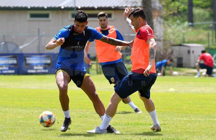 Antrenament România U21 // FOTO: Raed Krishan