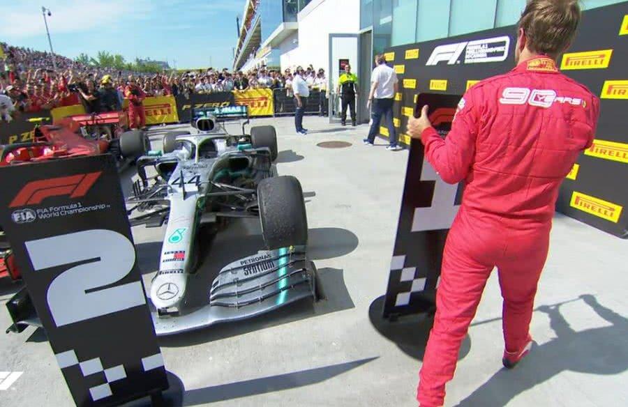 Sebastian Vettel // FOTO: twitter.com/F1