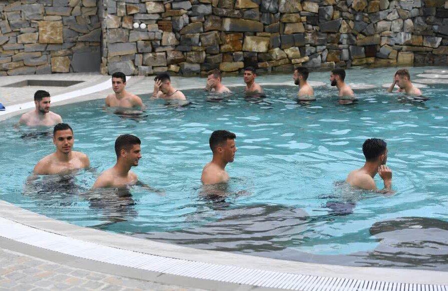 Echipa națională de tineret, la SPA
