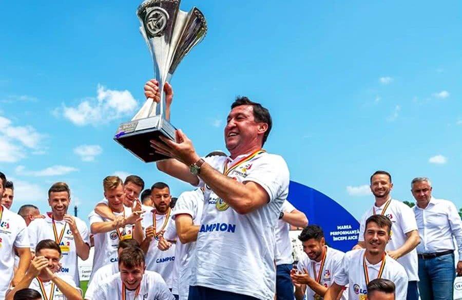 Antrenorul Viorel Moldovan a fost confirmat pe banca tehnică a Chindiei Târgoviște