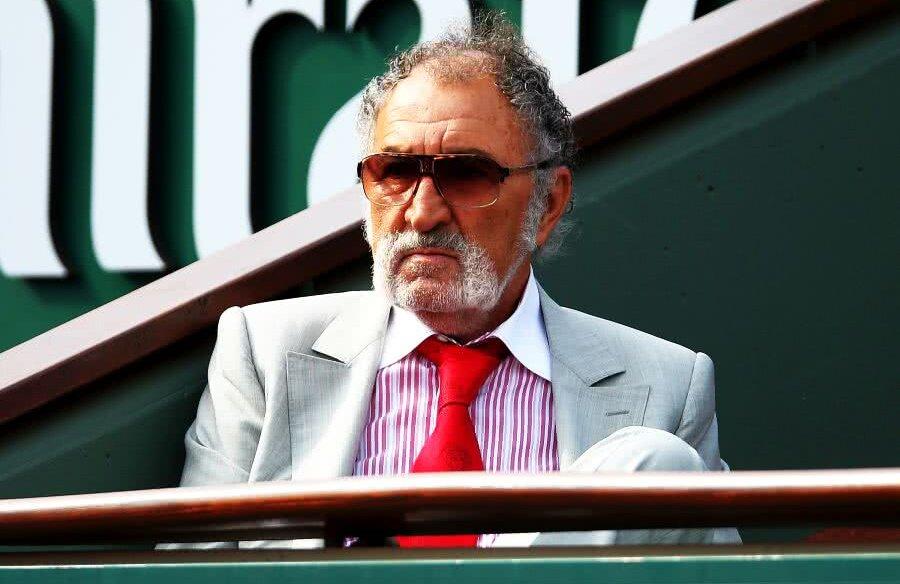 Ion Țiriac, în loja sa de la Roland Garros // FOTO: Guliver/Getty Images