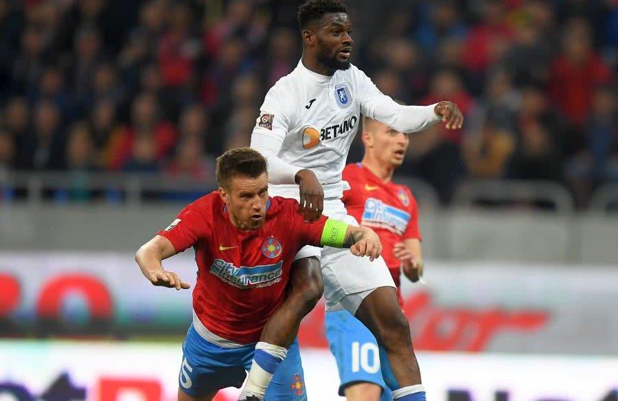 Ghanezul Isaac Donkor a dezamăgit în Bănie, deși are în CV nume grele din Italia: Inter, Bari, Avellino, Cesena // FOTO: Gazeta Sporturilor