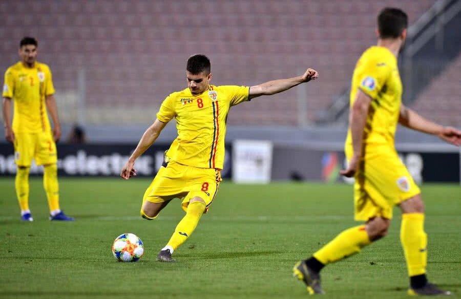 Ianis Hagi a fost integralist în Malta // FOTO: Cristi Preda (Gazeta Sporturilor)