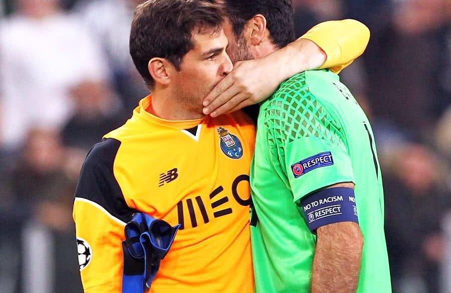 Iker Casillas și Gianluigi Buffon // FOTO: Guliver/Getty Images