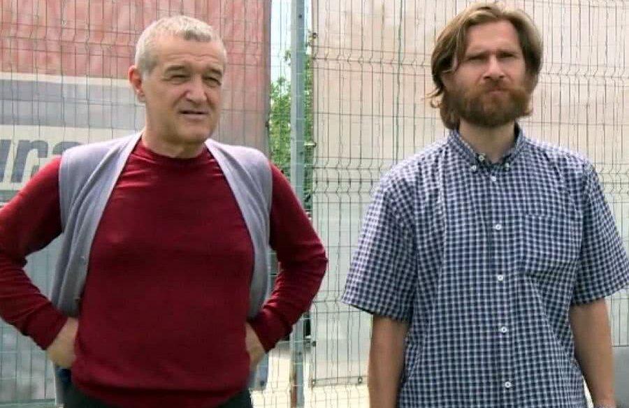 Imagine de ieri, de la momentul în care Gigi Becali l-a prezentat pe Tudor ca angajat la FCSB