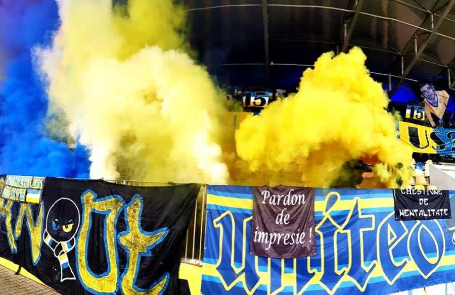 Ultrașii Petrolului nu mai rezistă în fața incertitudinilor din club // Sursă foto: Facebook Peluza Latină