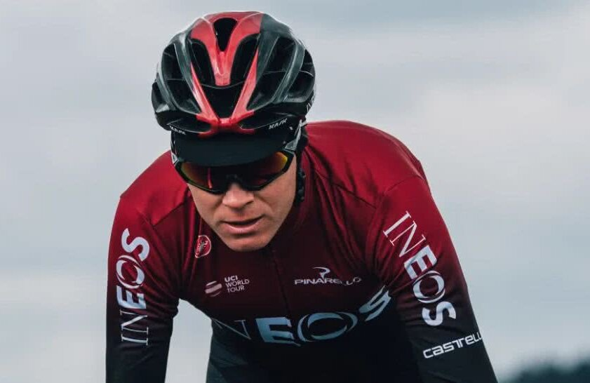 Chris Froome, foto: twitter Ineos