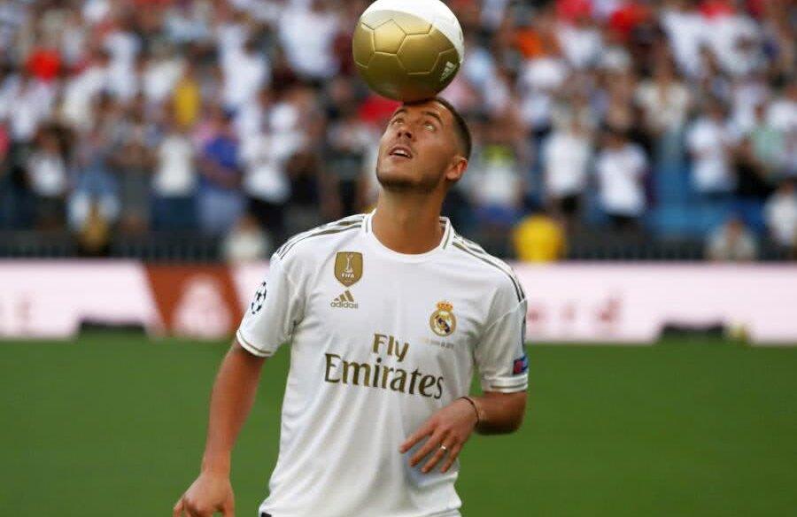 Eden Hazard, prezentat la Real Madrid // Foto: Reuters