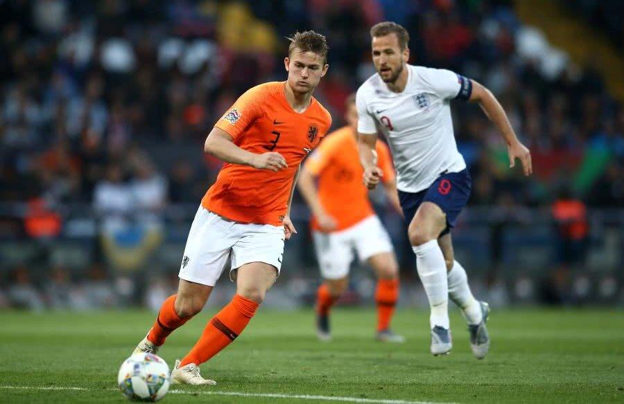 FOTO: GettyImages // De Ligt, la naționala Olandei