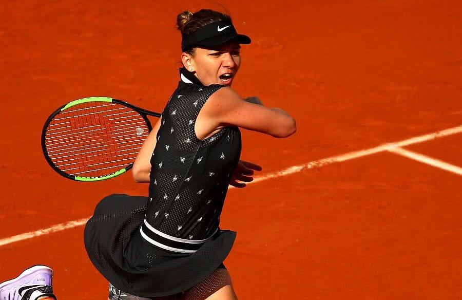 Simona Halep la Roland Garros, foto: Guliver/gettyimages
